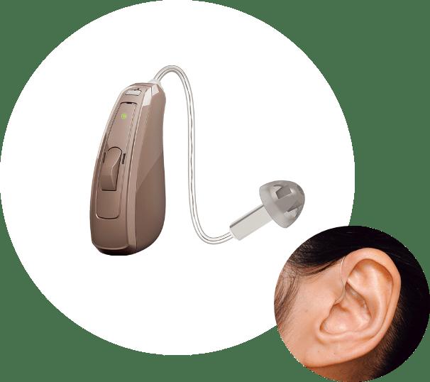小型耳かけ型(RIC型)